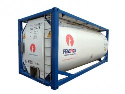 Standard 20 ft peroxide hydrogen tank container