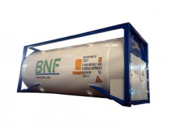 China T75 ISO LNG tank container