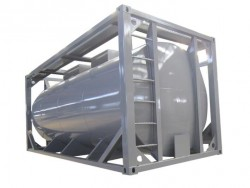 CSC certificate 20 ft fuel tank container